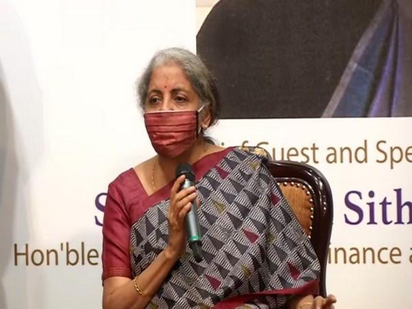 Union Finance Minister Nirmala Sitharaman in Chennai on Saturday