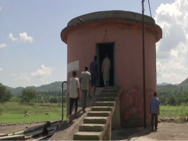 Water Tank installed in Kalakote Block (Photo/ANI)