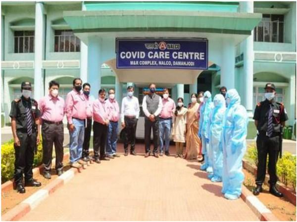 NELCO's COVID care centre in Daman (Photo/ANI)