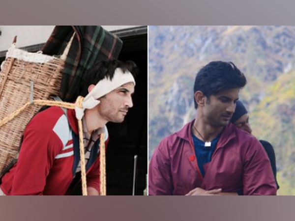 Stills from 'Kedarnath,' featuring late actor Sushant Singh Rajput (Image Source: Twitter)