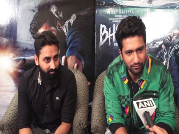 Director Bhanu Pratap Singh with Actor Vicky Kaushal