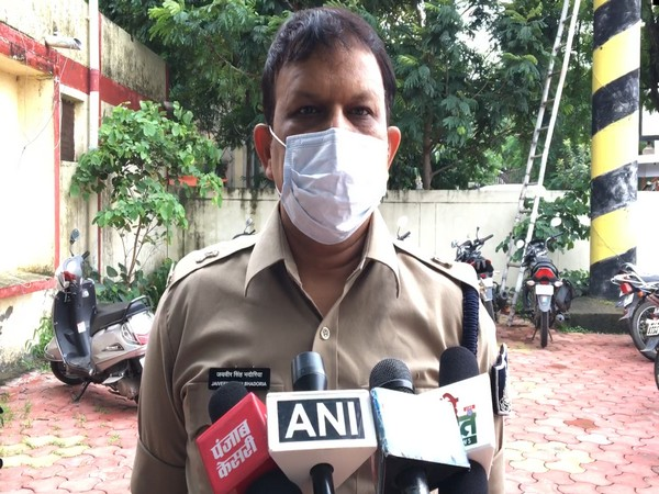 Additional SP Jaiveer Singh Bhadauria (Photo/ANI)