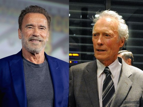 Arnold Schwarzenegger and Clint Eastwood