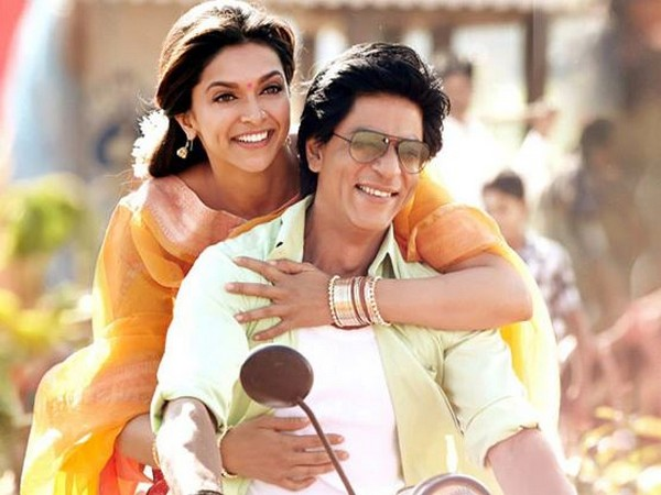 A still from 'Chennai Express' featuring Deepika Padukone, Shah Rukh Khan (Image source: Instagram)