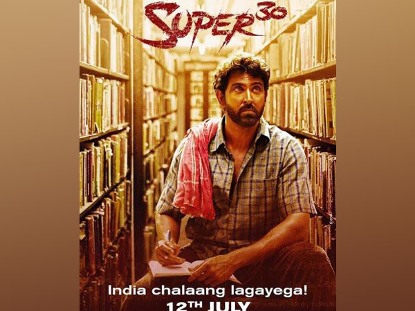 'Super 30' poster, Image courtesy: Instagram