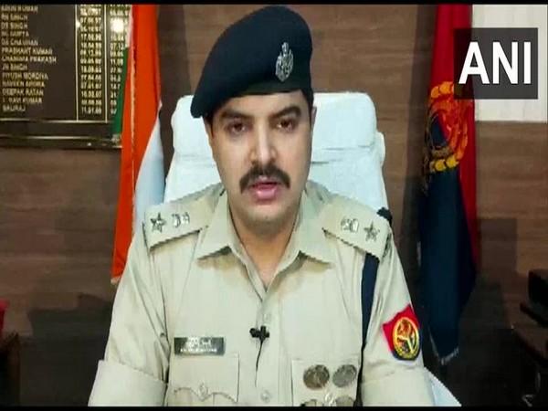Kalanidhi Naithani, Senior Superintendent of Police, Ghaziabad speaking to reporters on Wednesday.