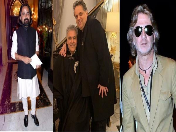 Sabyasachi Mukherjee, Abu Jani, Sandeep Khosla and Rohit Bal (Image courtesy: Instagram)