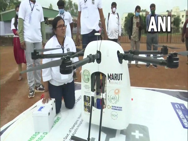 Telangana launches Medicine From The Sky project to deliver medicines to  remote areas using drones