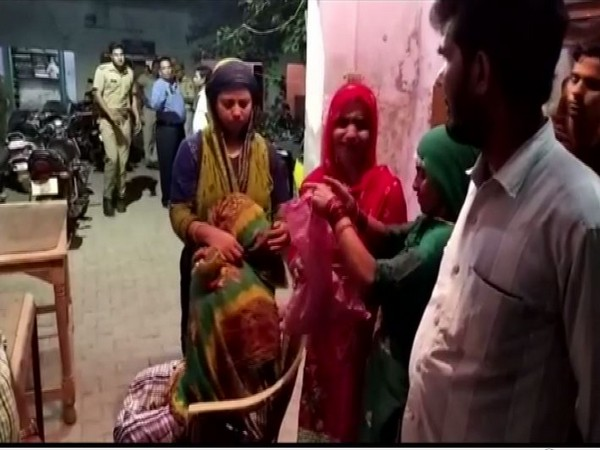 A five-month pregnant woman was beaten up by unknown miscreants in Uttar Pradesh's Etah