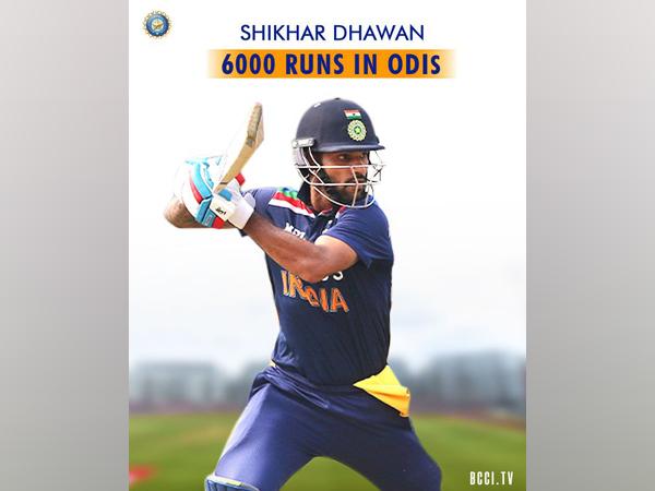 Shikhar Dhawan (Photo/ BCCI Twitter)