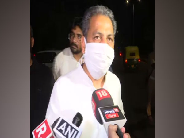 Congress leader Vijay Inder Singla (Photo/ANI)