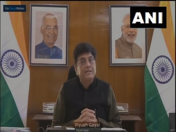 Minister of Commerce and Industry Piyush Goyal (Photo/ ANI)