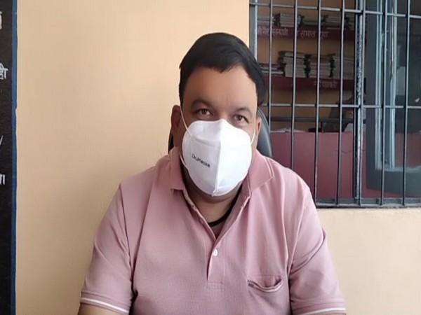 Prabhat Kumar, SHO, Dharchula police station (Photo/ANI)
