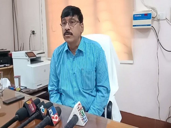 H Sudarsan Reddy, IIIT Director spoke to media on Saturday. Photo/ANI