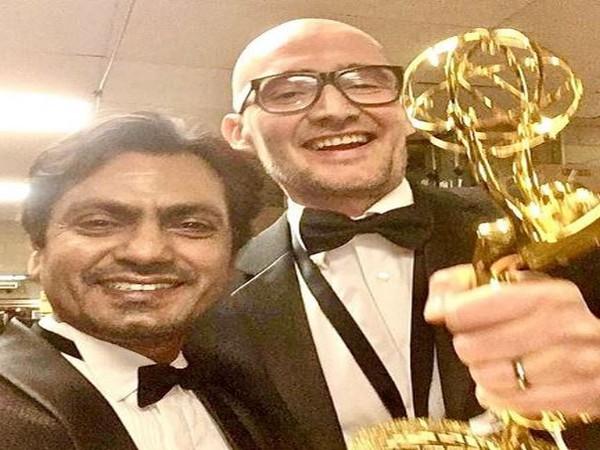 Nawazuddin Siddiqui and James Watkins (Image Courtesy: Instagram)