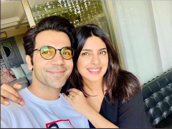 Rajkummar Rao and Priyanka Chopra, Image Courtesy: Twitter