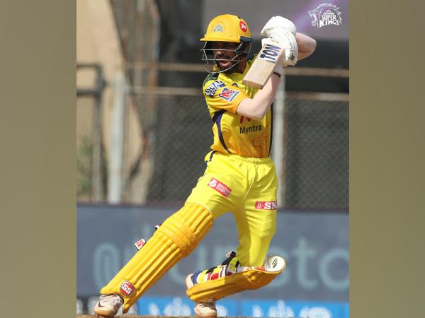 CSK batsman Ruturaj Gaikwad (Photo/ CSK Twitter)