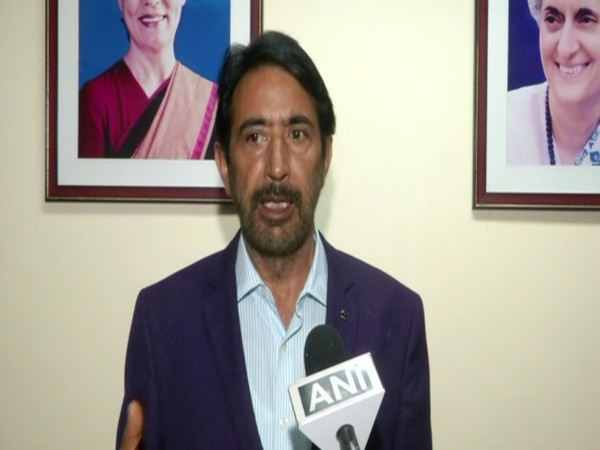 Jammu and Kashmir Pradesh Congress Committee president (JKPCC) Ghulam Ahmad Mir speaking to ANI on Tuesday.