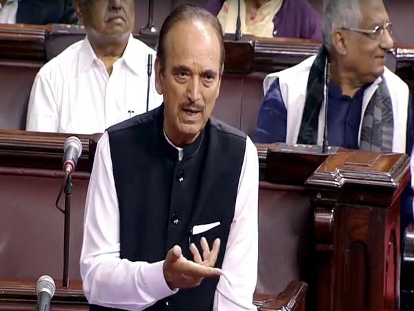 Leader of Opposition in Rajya Sabha Ghulam Nabi Azad. (File photo)