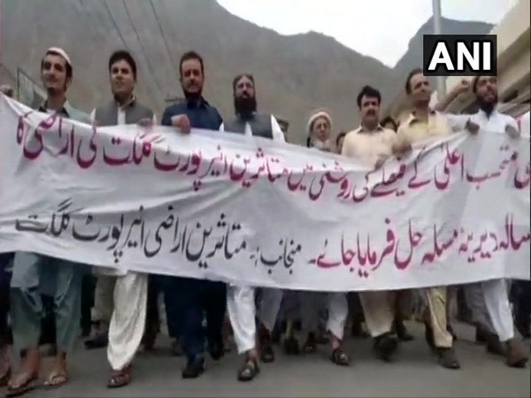 The protests underway in Gilgit-Baltistan on Wednesday
