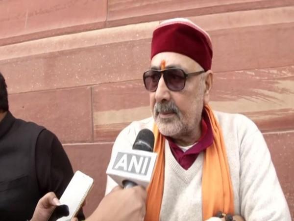 Giriraj Singh speaks to ANI in New Delhi on Thursday [Photo/ANI]