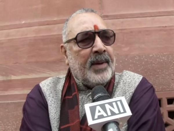 Union Minister Giriraj Singh talking to ANI in New Delhi on Monday