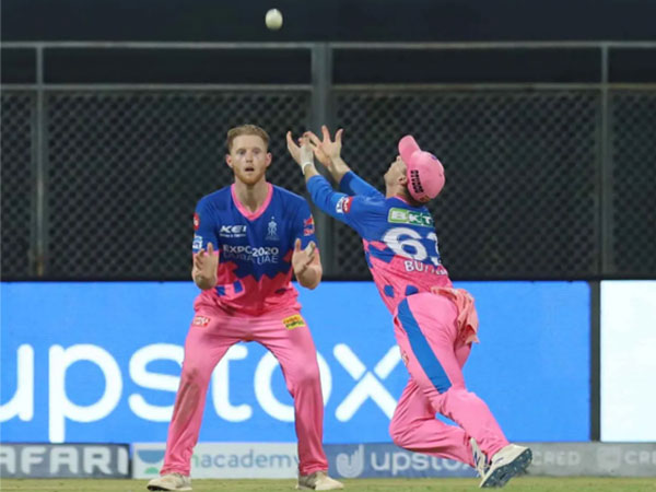 Jos Buttler dropped a catch in the match against Punjab Kings (Image: BCCI/IPL)