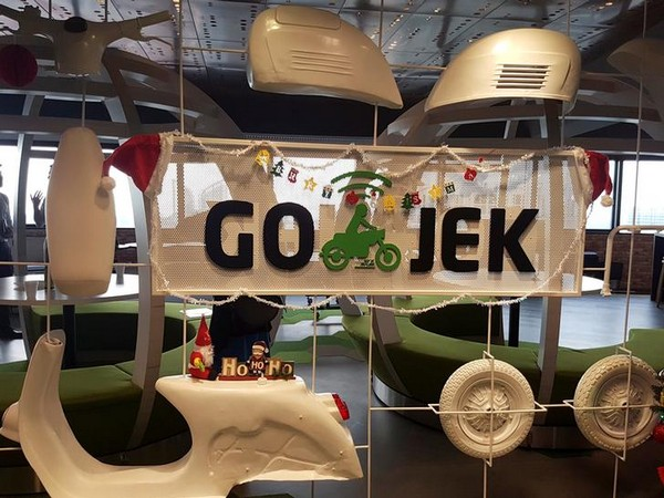 The Go-Jek office in Singapore (Photo/Reuters)