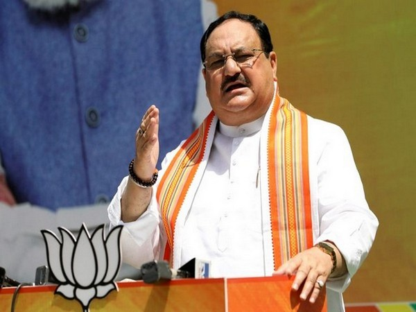 BJP national President JP Nadda. (file pic/ANI)
