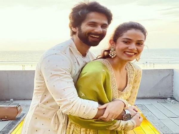 Shahid Kapoor and Mira Rajput (Image courtesy: Instagram)
