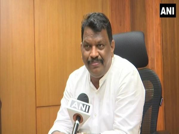 Goa Waste Management Minister Michael Lobo speaking to ANI on Wednesday.