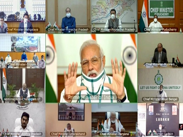 Visual from video conference meeting.