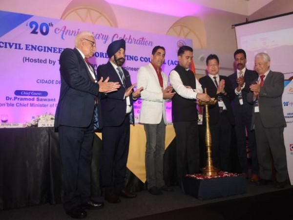 Chief Minister Pramod Sawant at the 20th-anniversary celebration of Asian Civil Engineering Coordinating Council (ACECC) on Friday in Goa.