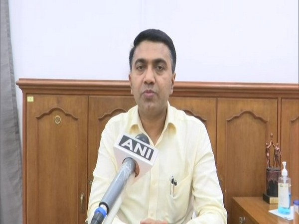 Goa Chief Minister Pramod Sawant speaking to ANI on Friday.