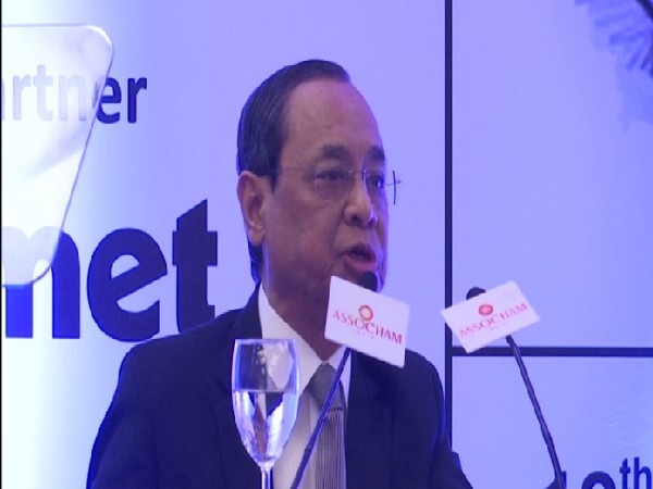 Chief Justice of India Ranjan Gogoi speaking at an ASSOCHAM event in New Delhi on July 12.