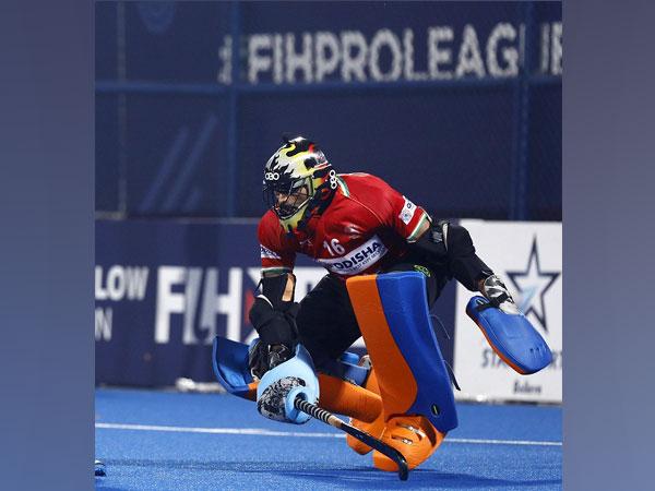 Indian men's hockey goalkeeper PR Sreejesh (Image: Hockey India)