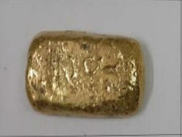 One of the Gold capsule recovered from passengers at Hyderabad Airport on Thursday.