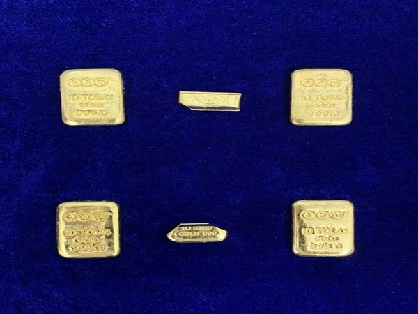 Chennai Air Customs seizes 758 gms gold from passengers arriving from Dubai (Photo/ANI)
