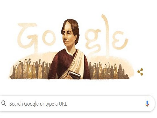 Google Doodle tribute to social activist Kamini Roy