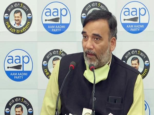 Delhi Minister Gopal Rai (File photo)
