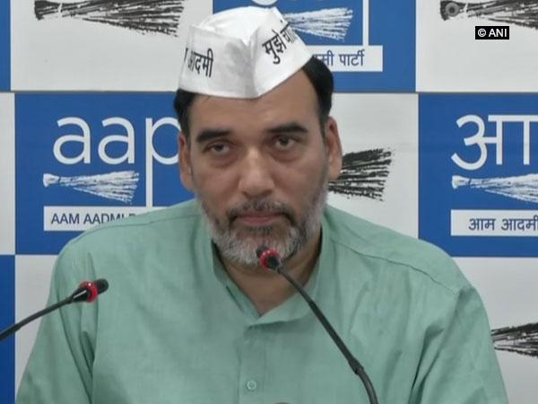 AAP leader Gopal Rai (File photo/ANI)