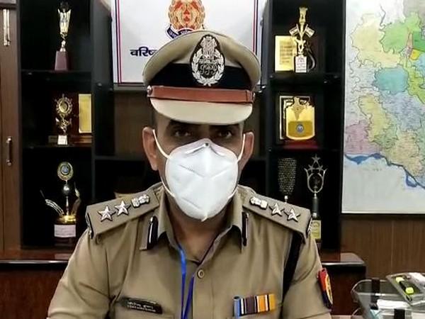 Gorakhpur Senior Superintendent of Police (SSP) Joginder Singh (Photo: ANI)
