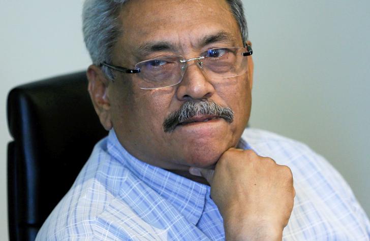 Former Sri Lankan Defence Secretary Gotabaya Rajapaksa