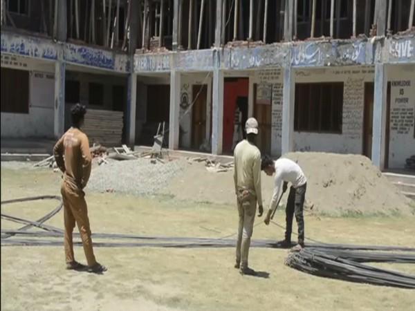 Govt school in Kulgam's Hablish village being upgraded by the UT adminstration. (Photo/ handball kiel vs flensburg)