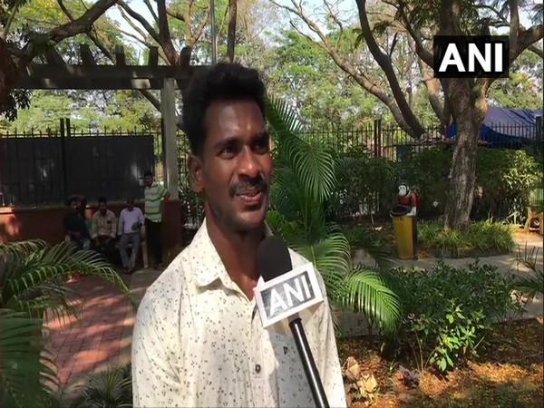 Srinivasa Gowda talking to ANI in Mangaluru on Saturday