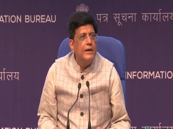Union Minister Piyush Goyal (Photo/ ANI)