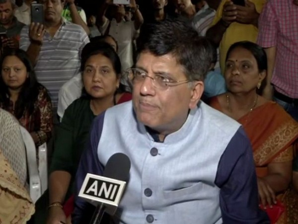Uttar Pradesh Minister Piyush Goyal speaking to ANI on Saturday.
