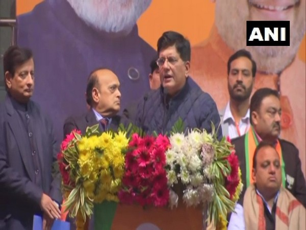 Union Minister Piyush Goyal speaking at an event in New Delhi on Monday