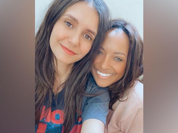Nina Dobrev and Kat Graham (Image source: Instagram)