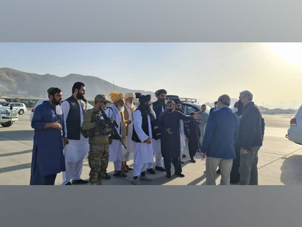 United Nations High Commissioner for Refugees Filippo Grandi, during his last week's Afghanistan visit.